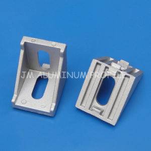 Jm T Slot Corner Bracket Aluminum Used for Profile 60/80/90 Series pictures & photos