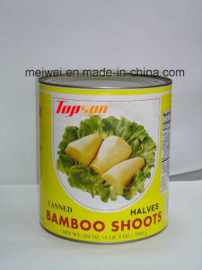 Top Quality Bamboo Shoot Halves Canned Bamboo Shoot pictures & photos