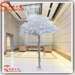 Indoor Decoration White Artificial Ficus Tree pictures & photos