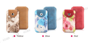 OEM PU Mobile Phone Pouch for All Cell Phone Models