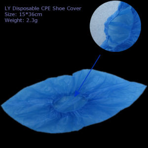 Ly CPE Plastic Blue Shoecover (LY-SC) pictures & photos