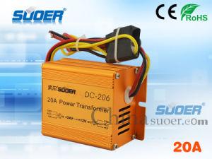 Suoer 20A DC 24V to 12V Auto Transformer (DC-206) pictures & photos