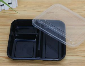 3-Compartment Fast Food Container pictures & photos