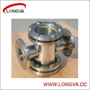 Sanitary Stainless Steel Four-Way Sight Glass pictures & photos