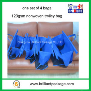 Folding Style Nonwoven Easy Bag for Supermarket Trolley pictures & photos