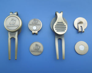 Golf Hat Clip Ball Marker and Divot Repair Tool pictures & photos