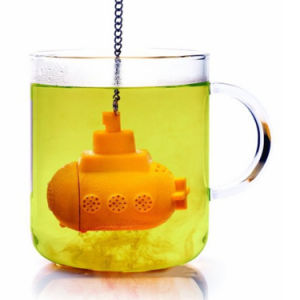 New Design Submarine Novelty Silicone Tea Infuser/Tea Strainer pictures & photos