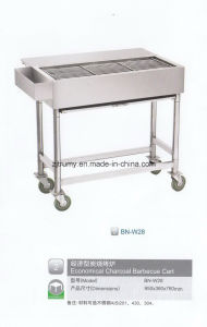 Economic Charcoal BBQ Cart pictures & photos