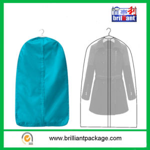 Blue Non Woven Suit Cover with Zipper pictures & photos