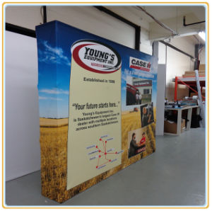 Professional Folding Pop up Banner Stand with 10FT Fabric Print pictures & photos