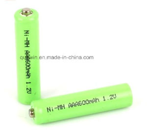 NiMH AAA 600mAh 1.2V Battery pictures & photos