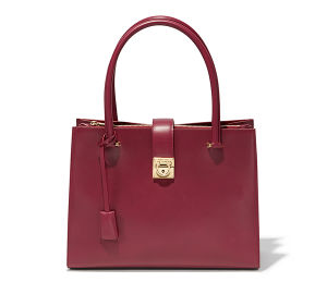 Classic Elegant Lady Leather Bag (YW404-01A)