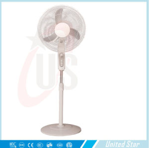18 Inch Big Size Three Metal Blade with Remote Control DC Pedestal Metal Stand Fan pictures & photos