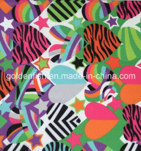 Polyester Spandex Tricot Swimming Fabric with Digital Print