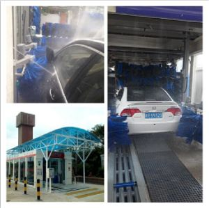Fully Automatic Tunnel Car Wash Machine for Iran Carwash Business pictures & photos