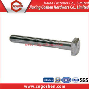 Thin Hex Head Bolt with Hole pictures & photos