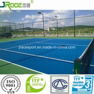 Weather Resistant Outdoor Tennis Court Surface Tennis Floor pictures & photos