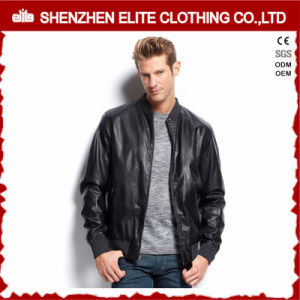 Wholesale Custom Men Varsity Leather Baseball Jacket pictures & photos