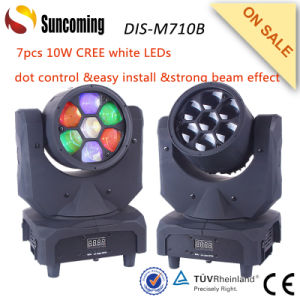 7*10W Strong Beam Light Effect Mini LED Moving Head pictures & photos
