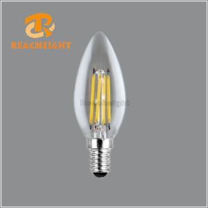 2W 4W C35 E14 LED Filament Candle Bulbs pictures & photos