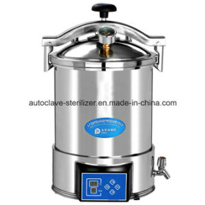 Automatic Microcomputer Type Portable Steam Sterilizer pictures & photos