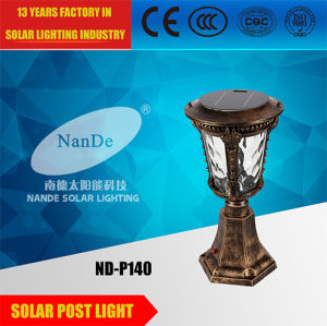 China Manufacture Solar Post Light for Garden pictures & photos