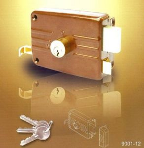 High Quality Good Price Rim Lock Types pictures & photos