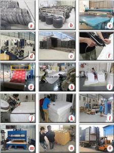Pillow Top Spring Memory Foam Mattress pictures & photos
