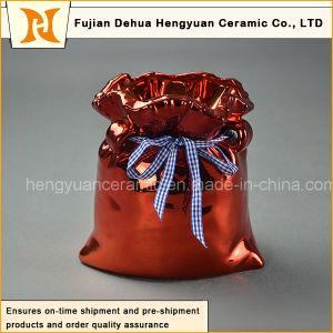 Electroplating Ceramic Big Bag Jar for Home Decoration pictures & photos