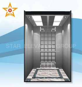 Passenger Lift with Gearless Traction Motor of Good Quality pictures & photos