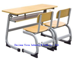 High Quality Werzalit School Desk and Chair