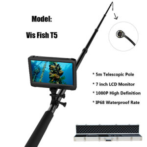 Extendable 5m Telescopic Pole 1080P HD Digital CCTV Undersea Inspection Camera DVR System for Underwater Fish Farming Checking (Vis Fish T5) pictures & photos
