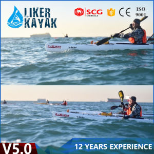 5.0m Professional One Person Sit in Ocean Pioneer Kayak Plastic Boat pictures & photos