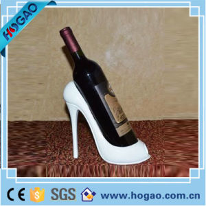High Heel Polyresin Animal Print Wine Bottle Holder pictures & photos