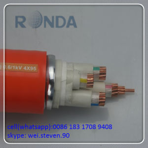 35 Sq mm 3 Cores 500V Fire Proof Electric Cable pictures & photos