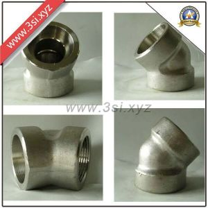 ASTM Stainless Steel 45 Degree Socket Weld Sr Elbow (YZF-L197) pictures & photos