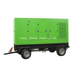 12.5kVA to 625kVA Trailer Mounted Silent Diesel Generator pictures & photos
