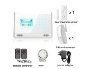 Black Color GSM Security Alarm with SMS, Power off Alert, Voice, Screen (YL-007M2BX) pictures & photos