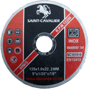 "Abrasives Cutting Disc-5""X5/128""X7/8"" pictures & photos"