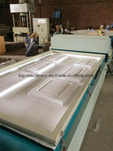 Curved Surface Vacuum Plastic Vacuum Forming Machinery Woodworking MDF Panel kitchen Door pictures & photos