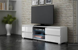 Pure White TV Stand Table (HF-EY08024) pictures & photos