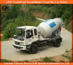 4X2 Small 4m3 Cement Mixer Truck 5m3 Concrete Mixer Truck pictures & photos