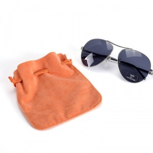 Sunglass Velvet Drawstring Pouch pictures & photos