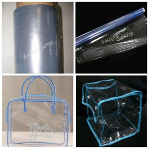 PVC Clear Film for Package Bags pictures & photos