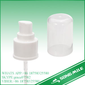 24/410 White and Smooth Surface Cream Pump pictures & photos