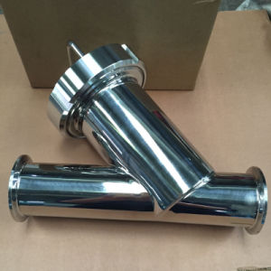 Dn40 Stainless Steel Ss316L Y Modle Clamp Sanitary Filter Strainer pictures & photos