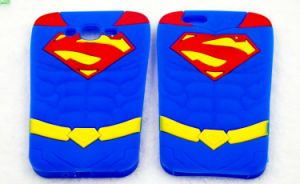 Superman Silicone Case for iPhone 7 7plus Motorola G4 Phone Accessories (XSY-006) pictures & photos
