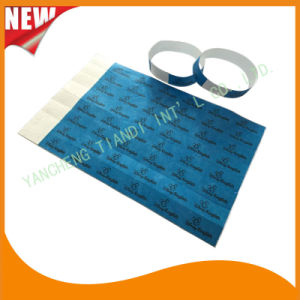 Entertainment Tyvek Customed Cheap Party VIP Paper Wristbands (E3000-1-30) pictures & photos