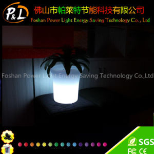 Outdoor Furniture Waterproof Color-Changing LED Flowerpot pictures & photos