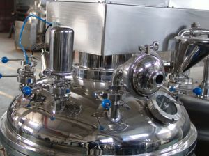Horizontal Type Vacuum Emulsifying Mixer pictures & photos